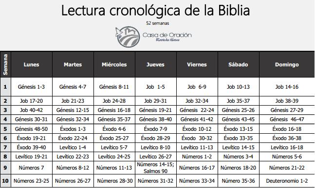 La biblia cr nologica gu a v deo - Libro 21 dias para tener tu casa en orden ...