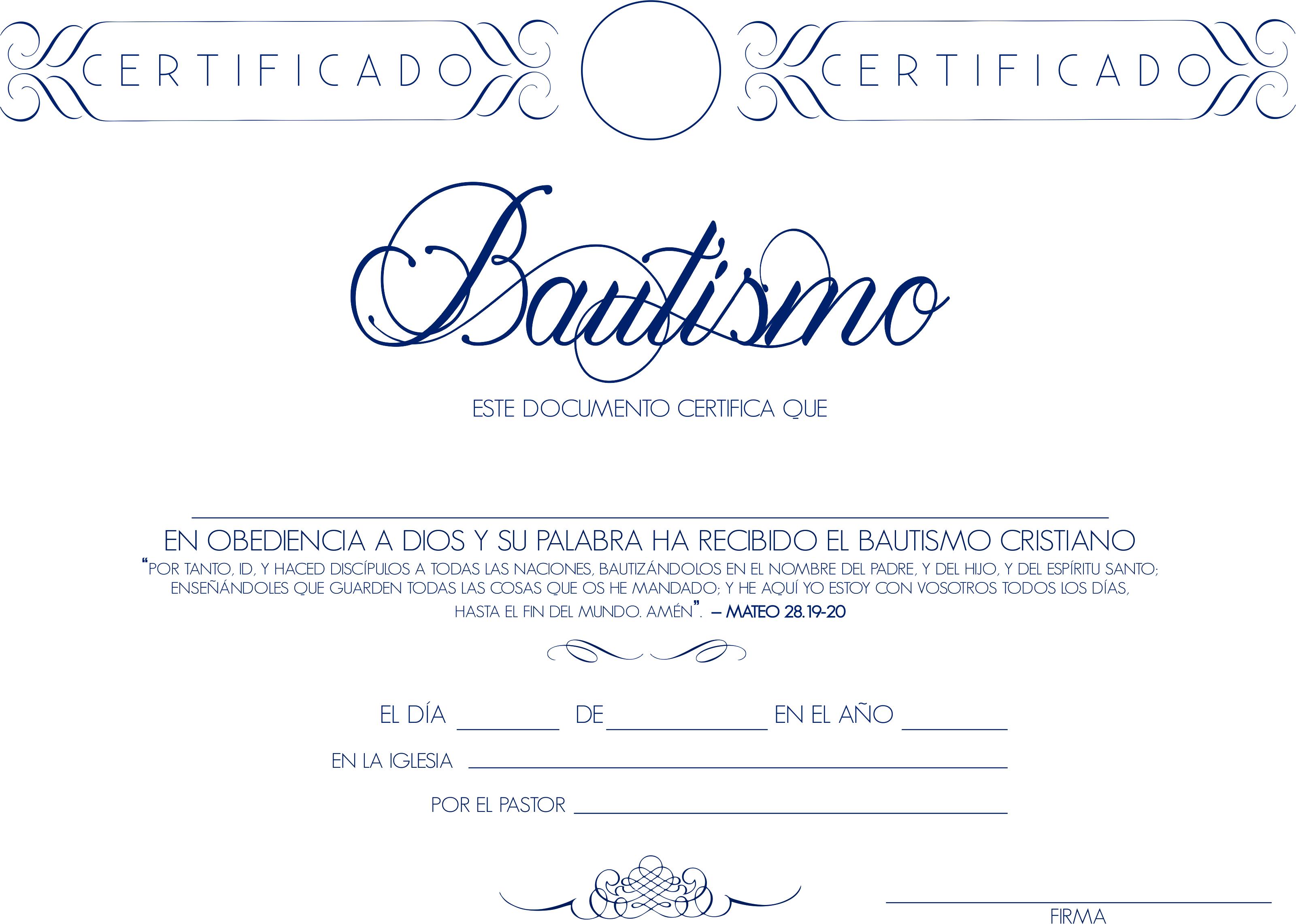 Consejería Matrimonial Catolico Gratis : Certificado de bautismo y otras cosas la biblia