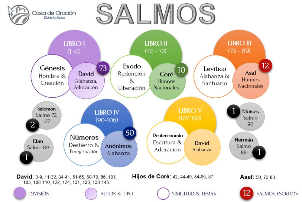 Clasificación y División de los Salmos